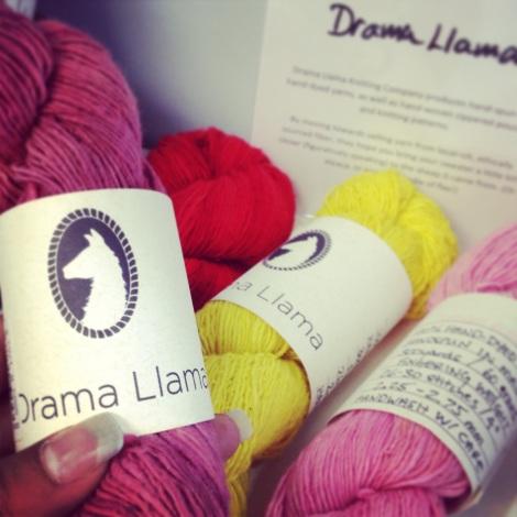 Drama Llama_cotton yarn