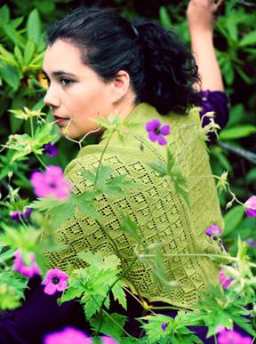 Rosemarie's Garden Shawl