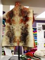 Back view of Gwen Martinuk's felted vest