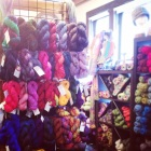 Display of Colour Adventures yarns